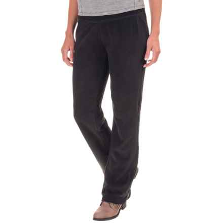 Royal Robbins Foxtail Fleece Pants - UPF 50+, Relaxed Fit (For Women) in Jet Black - Closeouts