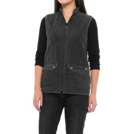 Royal Robbins Foxtail Fleece Vest - UPF 50+, Insulated (For Women) in Jet Black - Closeouts