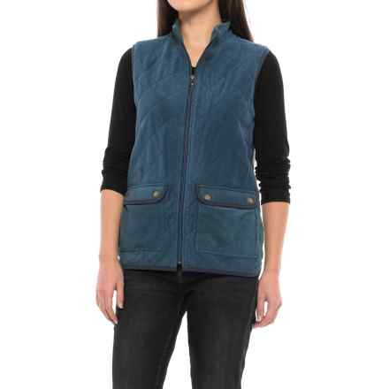 Royal Robbins Foxtail Fleece Vest - UPF 50+, Insulated (For Women) in Navy - Closeouts