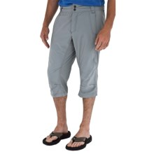 Royal Robbins Fuse Long Shorts - UPF 50+, Stretch Nylon (For Men) in Light Pewter - Closeouts
