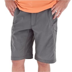Royal Robbins Fuse Shorts - UPF 50+, Stretch Nylon (For Men) in Charcoal