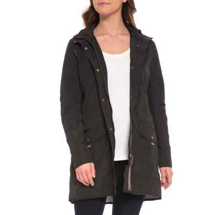 Royal Robbins Gail's Force Trench Coat - UPF 25+ (For Women) in Jet Black - Closeouts