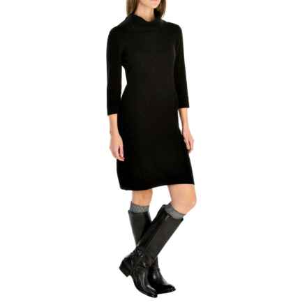 Royal Robbins Galaxy Dress - 3/4 Sleeve (For Women) in Jet Black - Closeouts