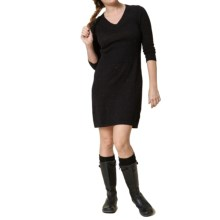 Royal Robbins Galaxy Sweater Dress - 3/4 Sleeve (For Women) in Jet Black - Closeouts
