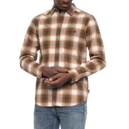 Royal Robbins Galen Plaid Shirt - Long Sleeve (For Men) in Glazed Ginger - Closeouts