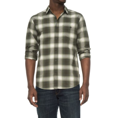 Royal Robbins Galen Plaid Shirt - Long Sleeve (For Men) in Jack Pine
