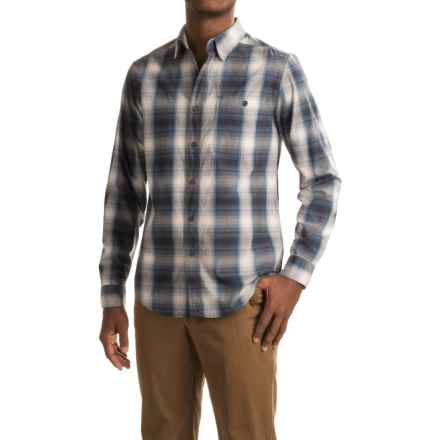 Royal Robbins Galen Plaid Shirt - Long Sleeve (For Men) in Phoenix Blue - Closeouts