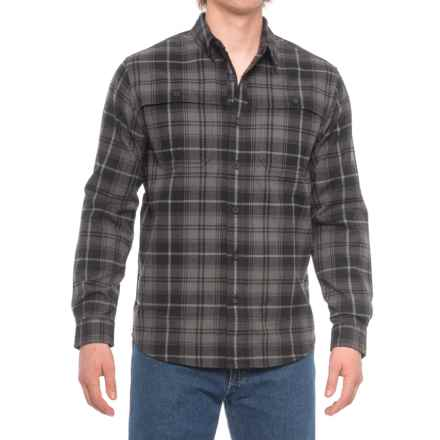 Royal Robbins Glacier Point Overshirt - UPF 50+, Long Sleeve (For Men) in Charcoal - Closeouts