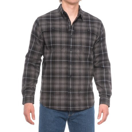 Royal Robbins Glacier Point Overshirt - UPF 50+, Long Sleeve (For Men) in Charcoal