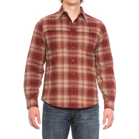 Royal Robbins Glacier Point Overshirt - UPF 50+, Long Sleeve (For Men) in Hawthorn