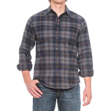 Royal Robbins Glacier Point Overshirt - UPF 50+, Long Sleeve (For Men) in Navy - Closeouts
