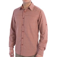 Royal Robbins Global Traveler Shirt - UPF 50+, Long Sleeve (For Men) in Red Pepper - Closeouts