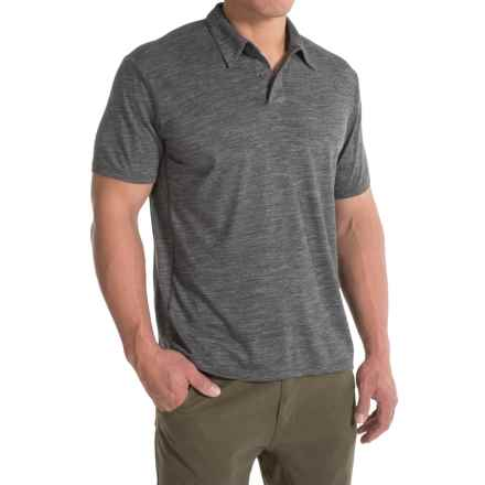 Royal Robbins Go Everywhere Cricket Shirt - UPF 50+, Short Sleeve (For Men) in Charcoal - Closeouts