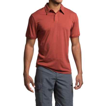 Royal Robbins Go Everywhere Cricket Shirt - UPF 50+, Short Sleeve (For Men) in Dark Paprika - Closeouts