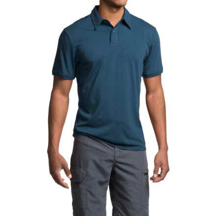 Royal Robbins Go Everywhere Cricket Shirt - UPF 50+, Short Sleeve (For Men) in Phoenix Blue - Closeouts
