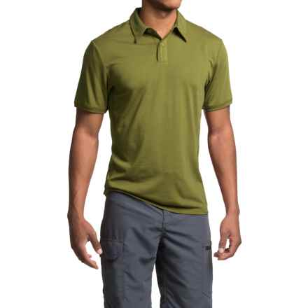 Royal Robbins Go Everywhere Cricket Shirt - UPF 50+, Short Sleeve (For Men) in Spanish Moss - Closeouts