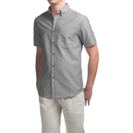 Royal Robbins Go Everywhere Oxford Shirt - UPF 50+, Short Sleeve (For Men) in Pewter - Closeouts