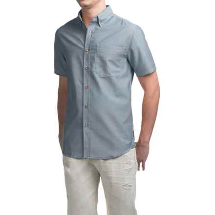 Royal Robbins Go Everywhere Oxford Shirt - UPF 50+, Short Sleeve (For Men) in Tide Pool - Closeouts