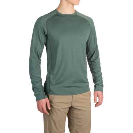 Royal Robbins Go Everywhere Shirt - UPF 50+, Merino Wool, Long Sleeve (For Men) in Balsamic Green - Closeouts