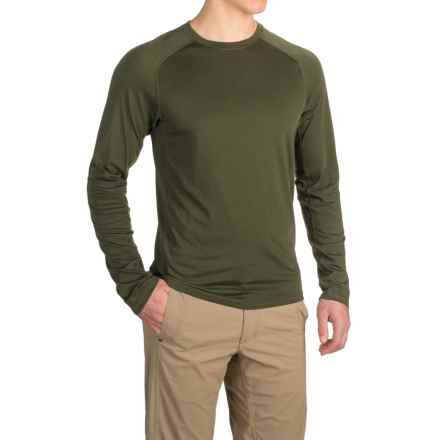 Royal Robbins Go Everywhere Shirt - UPF 50+, Merino Wool, Long Sleeve (For Men) in Dark Olive - Closeouts