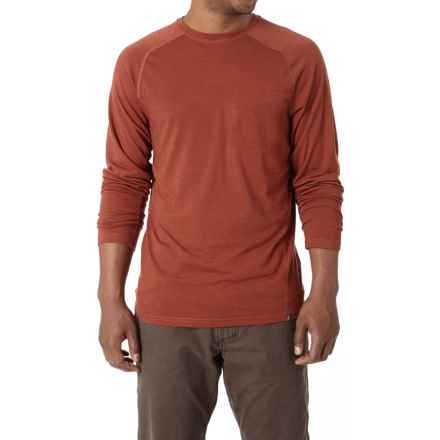 Royal Robbins Go Everywhere Shirt - UPF 50+, Merino Wool, Long Sleeve (For Men) in Hawthorn - Closeouts