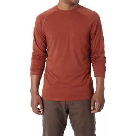 Royal Robbins Go Everywhere Shirt - UPF 50+, Merino Wool, Long Sleeve (For Men) in Hawthorn - Closeouts