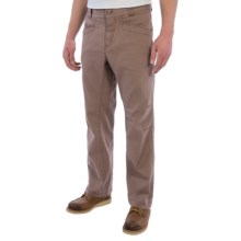 Royal Robbins Granite Utility Pants - UPF 50+ (For Men) in Taupe - Closeouts