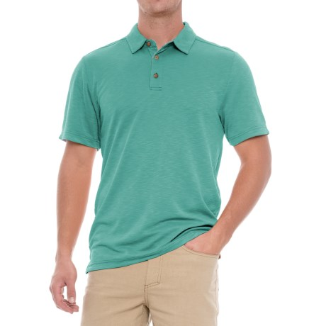 Royal Robbins Great Basin Polo Shirt - Short Sleeve (For Men) in Bowden