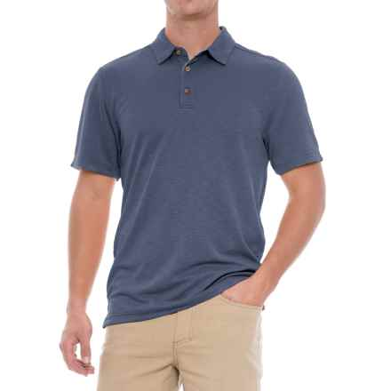 Royal Robbins Great Basin Polo Shirt - Short Sleeve (For Men) in Collins Blue - Closeouts