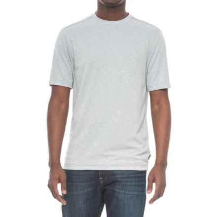 Royal Robbins Great Basin Shirt - Crew Neck, Short Sleeve (For Men) in Stratus - Closeouts