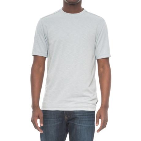 Royal Robbins Great Basin Shirt - Crew Neck, Short Sleeve (For Men) in Stratus