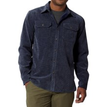Royal Robbins Grid Cord Shirt - UPF 50+, Long Sleeve (For Men) in Deep Blue - Closeouts