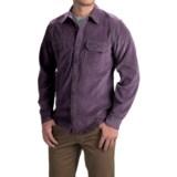 Royal Robbins Grid Cord Shirt - UPF 50+, Long Sleeve (For Men)