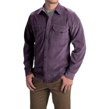 Royal Robbins Grid Cord Shirt - UPF 50+, Long Sleeve (For Men) in Plumperfect - Closeouts
