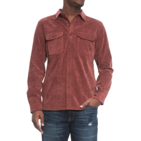 Royal Robbins Grid Cord Shirt - UPF 50+, Long Sleeve (For Men) in Red Rock