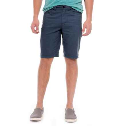 Royal Robbins Gulf Breeze Shorts - 5-Pocket (For Men) in Eclipse - Closeouts
