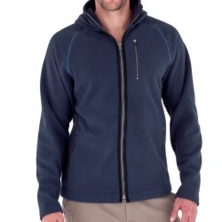 Royal Robbins Gunnison Hoodie Sweatshirt - UPF 50+, Zip Front (For Men) in Deep Blue