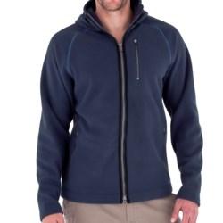 Royal Robbins Gunnison Hoodie Sweatshirt - UPF 50+, Zip Front (For Men) in Deep Blue