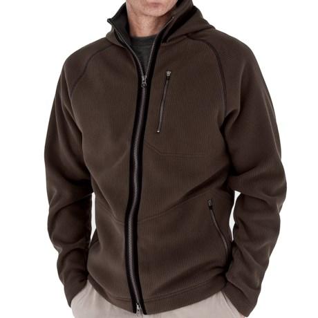 Royal Robbins Gunnison Hoodie Sweatshirt - UPF 50+, Zip Front (For Men) in Turkish Coff