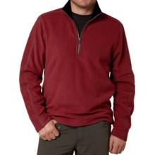 Royal Robbins Gunnison Pullover Jacket - Zip Neck (For Men) in Dark Firecrack - Closeouts