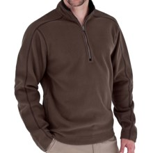 Royal Robbins Gunnison Pullover Jacket - Zip Neck (For Men) in Turkish Coff - Closeouts