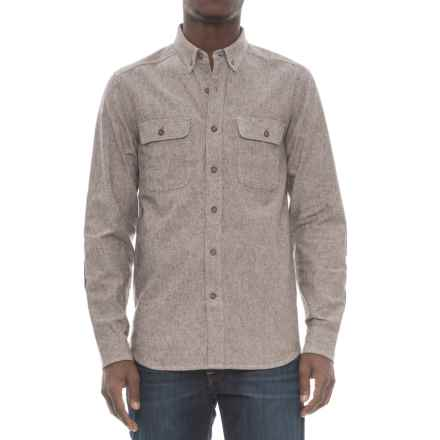 Royal Robbins Headwall Chambray Shirt - UPF 50+, Long Sleeve (For Men) in Turkish Coffee - Overstock