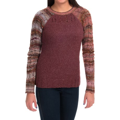 Royal Robbins Helium Sweater - Crew Neck (For Women) in Bordeaux