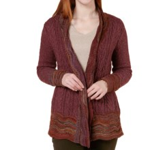 Royal Robbins Helium Tie Cardigan Sweater (For Women) in Dark Shadow - Closeouts