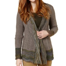 Royal Robbins Helium Tie Cardigan Sweater (For Women) in Granite - Closeouts