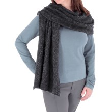 Royal Robbins Helium Wrap Scarf (For Women) in Charcoal - Closeouts