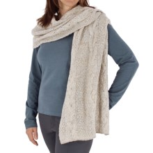 Royal Robbins Helium Wrap Scarf (For Women) in Oatmeal - Closeouts