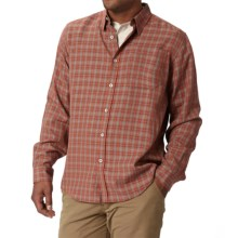 Royal Robbins Hemlock Herringbone Shirt - UPF 50+, Long Sleeve (For Men) in Dark Ember - Closeouts