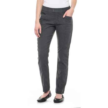 Royal Robbins Herringbone Discovery Pencil Pants - UPF 50+ (For Women) in Charcoal - Closeouts