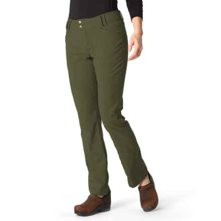 Royal Robbins Herringbone Discovery Strider Pants - UPF 50+ (For Women) in Dark Olive - Closeouts